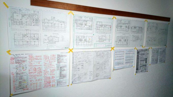一級建築士、製図試験の図面