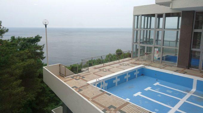 熱海サニーハイツのプール