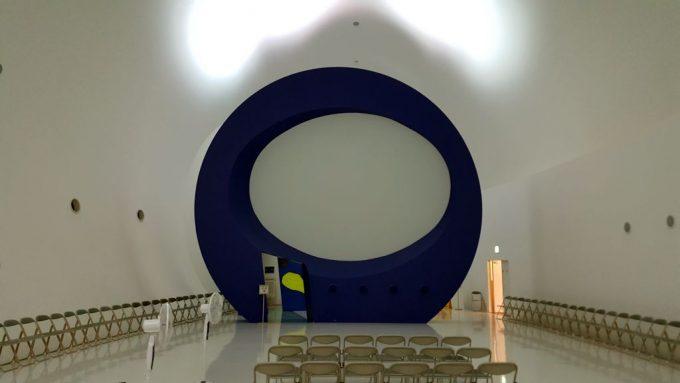 メテオプラザのホール