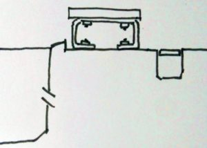 プールの断面構造