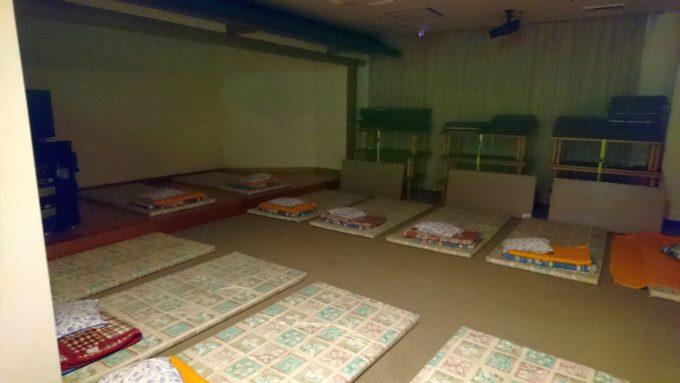 相模健康センターの仮眠室