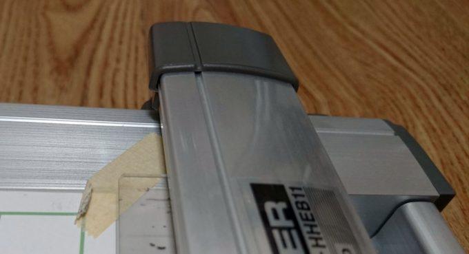 図面のテープがスケールに貼り付いてめくれる問題