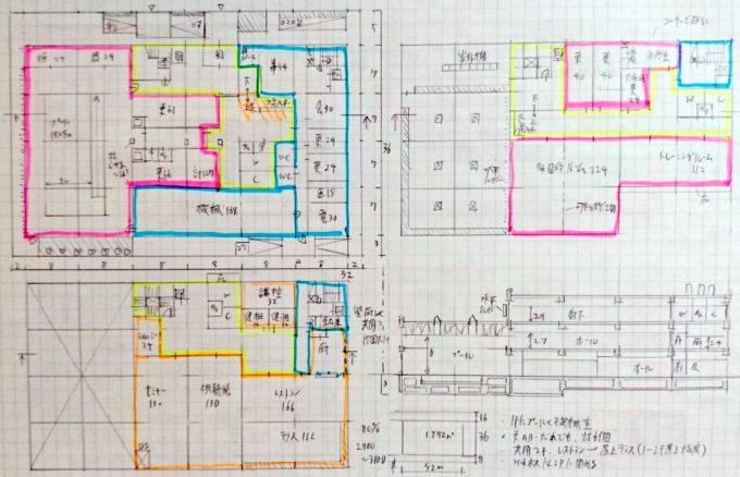 製図試験の図面例