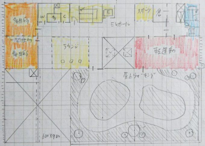 TAC課題2の模範解答、3階プラン