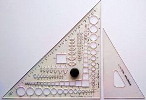 バンコの三角定規