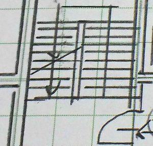 製図試験における階段の作図法