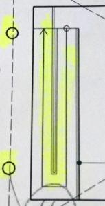 スポーツ施設標準解答例のプール内スロープ